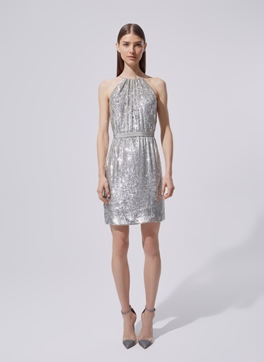 Dilek Hanif Elbise Gümüş